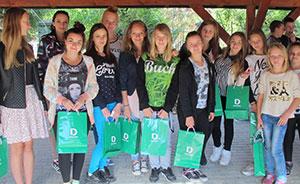 Gruppenfoto Waisenhaus in Pieszyce