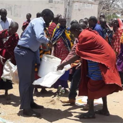 Fluthilfe für 1.000 Massai-Familien in Tansania